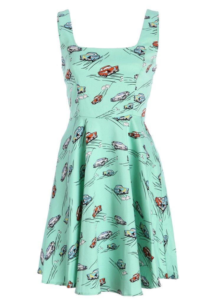 Ixia Car Print Dress